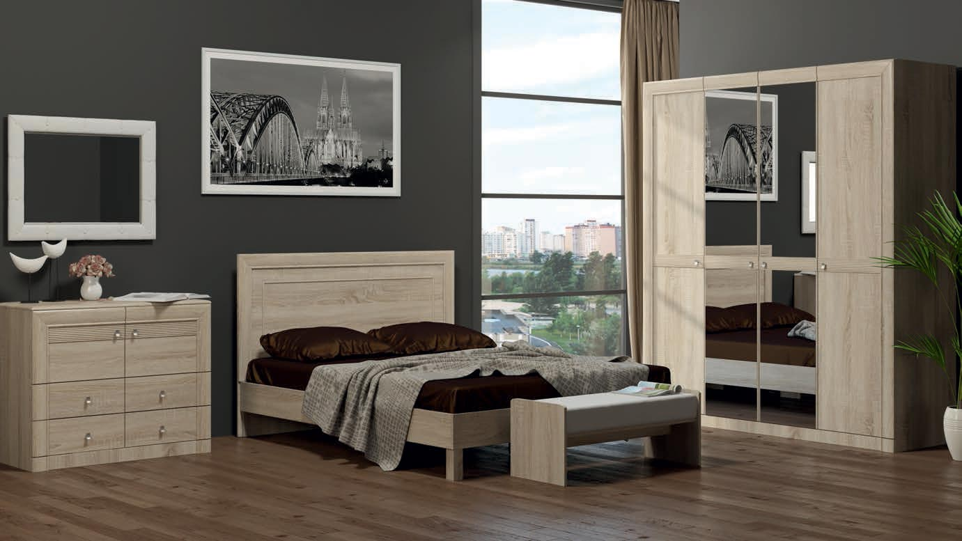 Набор мебели для спальни Корвет МК 50