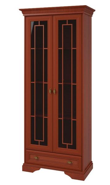 Шкаф 2х дверный с 1м ящиком Корвет МК 21, арт.1