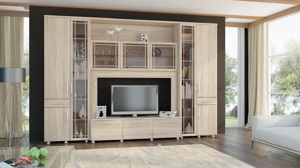 Н-р мебели мк 48 ( фасад мдф) помодульно кор-т - купить в ив.