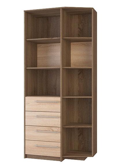 Шкаф для книг Корвет МДК 4.11, изд.96