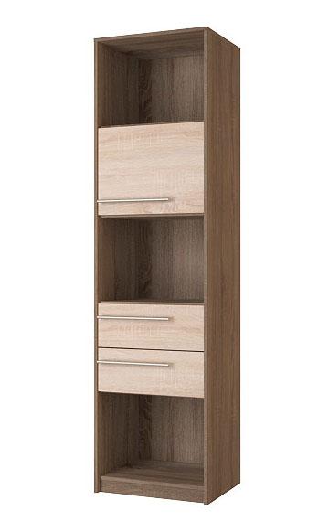 Шкаф для книг Корвет МДК 4.11, изд.99