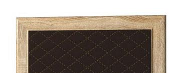 Спинка СМ №16.1 в рамке (коричневый) Корвет МДК 4.12