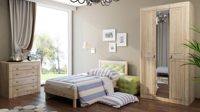 Набор мебели для детской Корвет МДК 4.12, комплектация 2