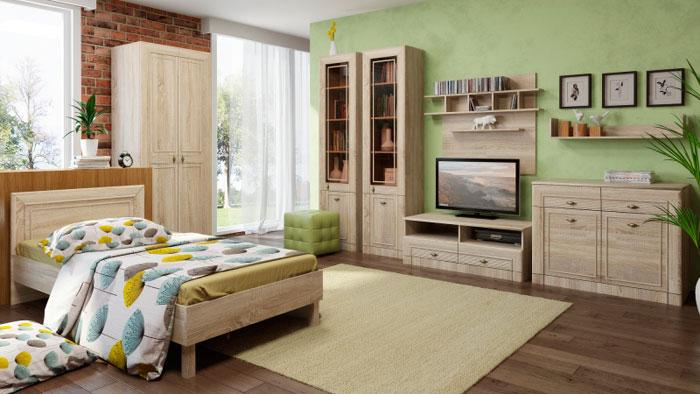 Набор мебели для детской Корвет МДК 4.12, комплектация 3