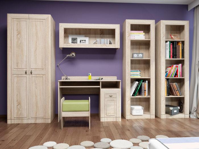 Набор мебели для детской Корвет МДК 4.12, комплектация 4