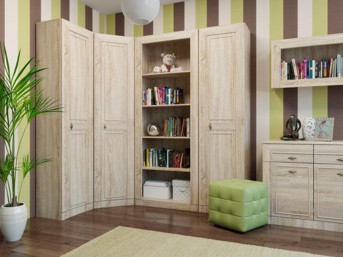 Набор мебели для детской Корвет МДК 4.12, комплектация 6