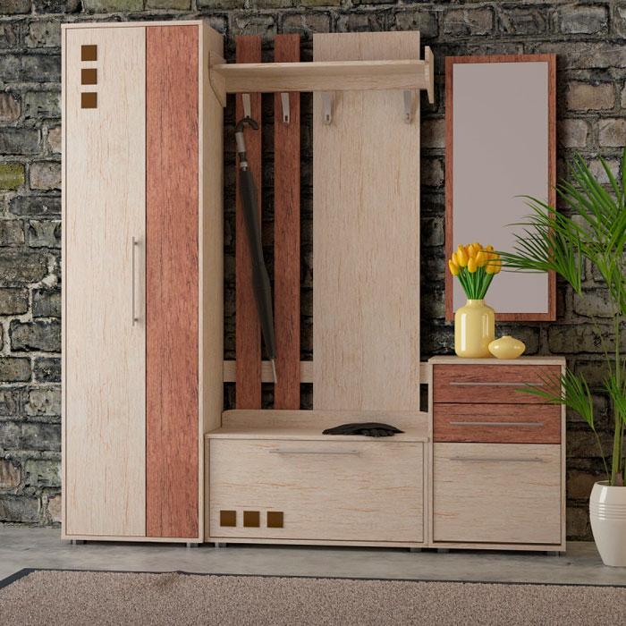 Набор мебели для прихожей Корвет 19.1, комплектация 2