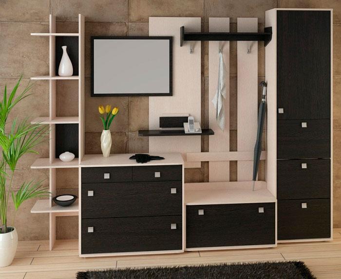 Набор мебели для прихожей Корвет 19, комплектация 1