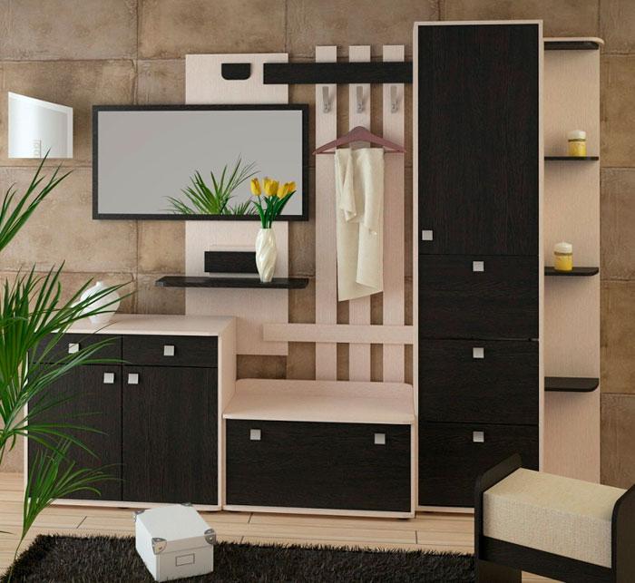 Набор мебели для прихожей Корвет 19, комплектация 2
