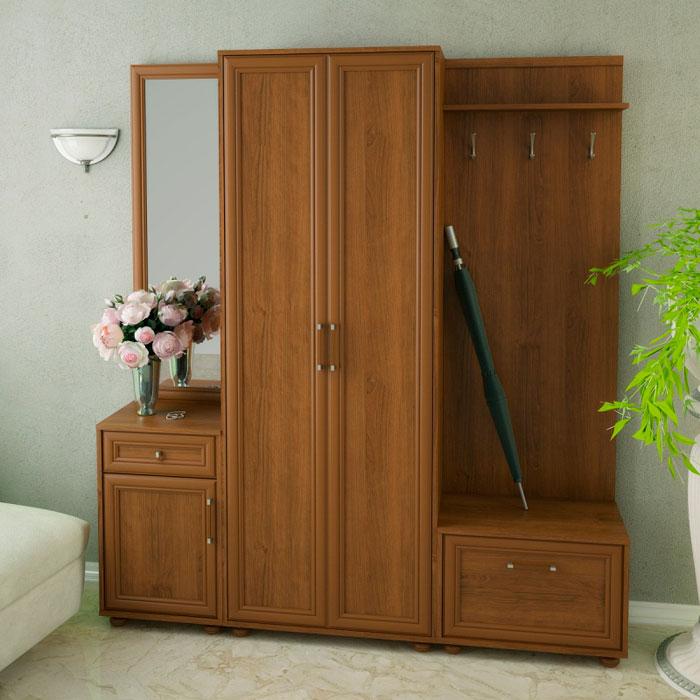 Набор мебели для прихожей Корвет 22, комплектация 1