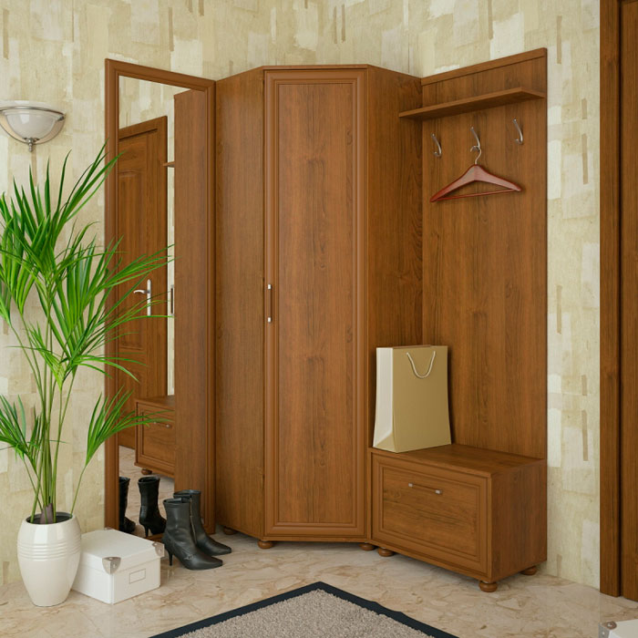 Набор мебели для прихожей Корвет 22, комплектация 3