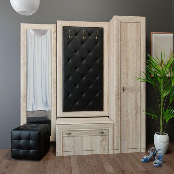 Комплект мебели для прихожей Корвет 24 (ель), композиция 2