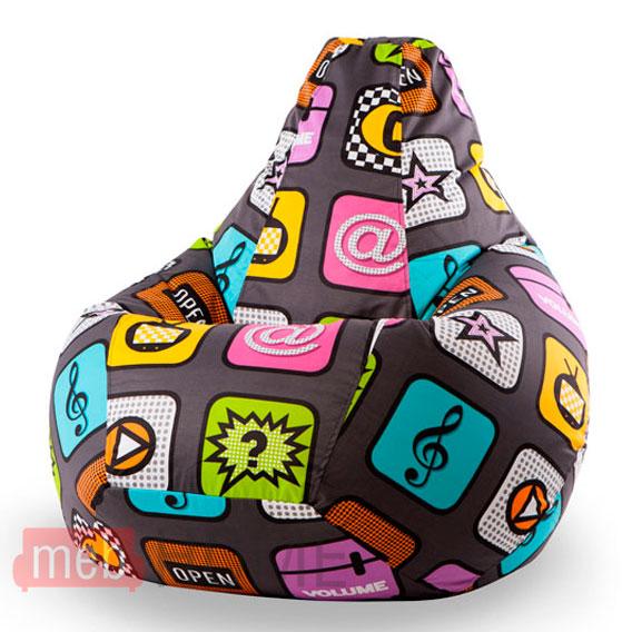 Кресло Dreambag Груша XL,  жаккард детский