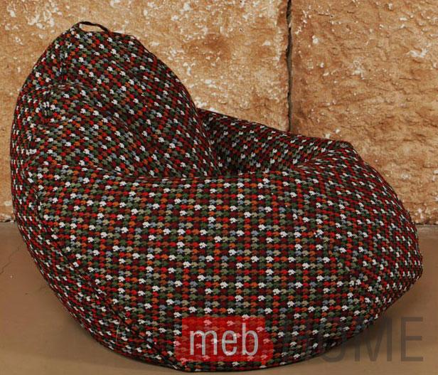 Кресло Dreambag Груша XL, гобелен гусиная лапка