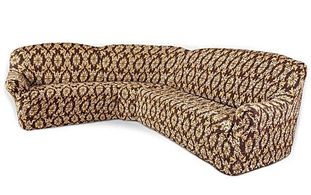 Чехол на большой угловой диван