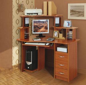 Компьютерный стол Омега-4 Линвуд