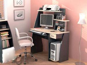 Компьютерный стол Вега 2 Линвуд