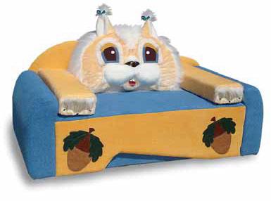 Детский диван Белка