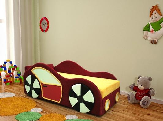 Детский диванчик Машинка