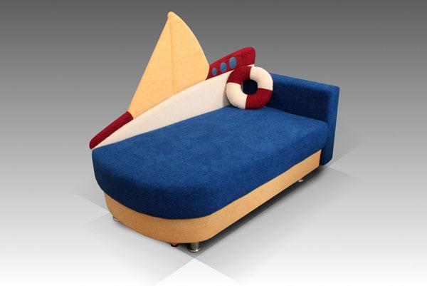 Детский диван Малина Кораблик