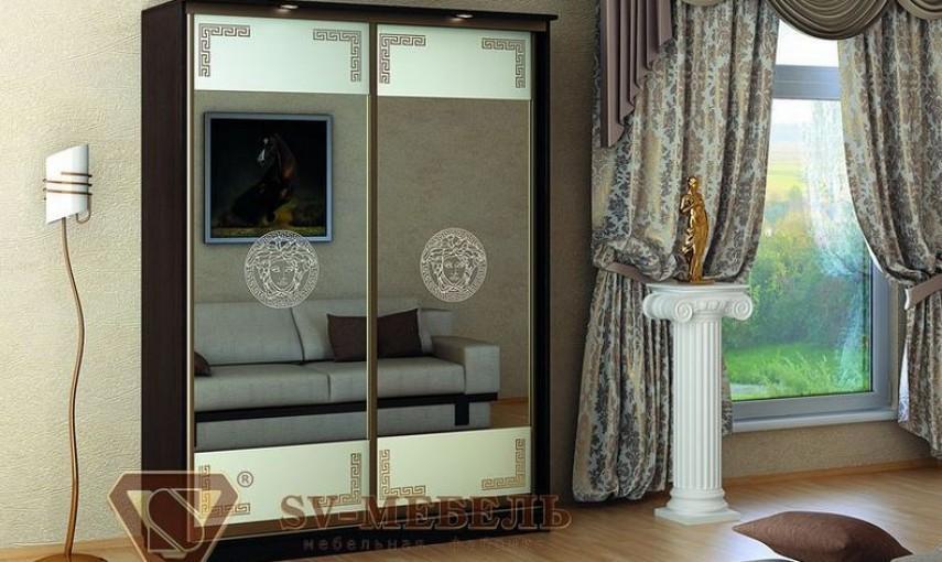 Шкаф-купе SV-мебель Версаче