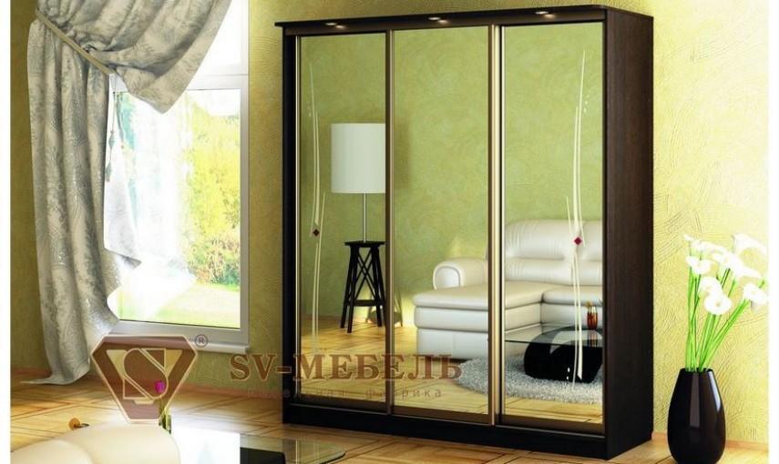 Шкаф-купе SV-мебель Гармония