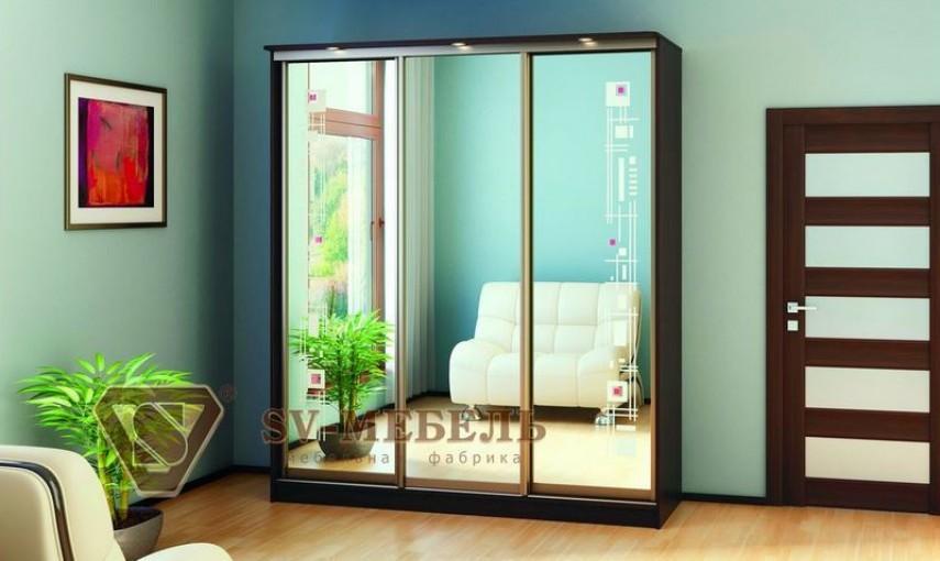 Шкаф-купе SV-мебель Геометрия