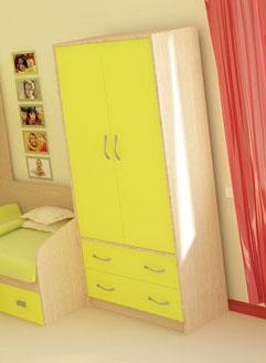 Шкаф с 2-мя ящиками РМК Тандем 2
