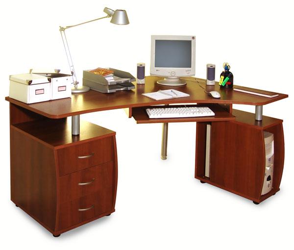 Большой офисный стол Эльба-мебель