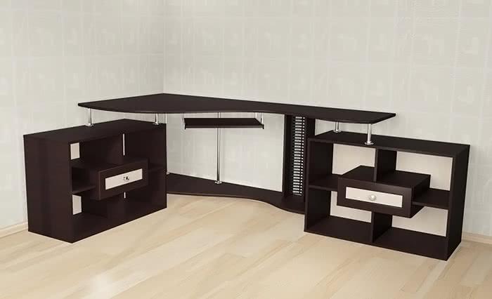 Стол компьютерный Мебелайн-10