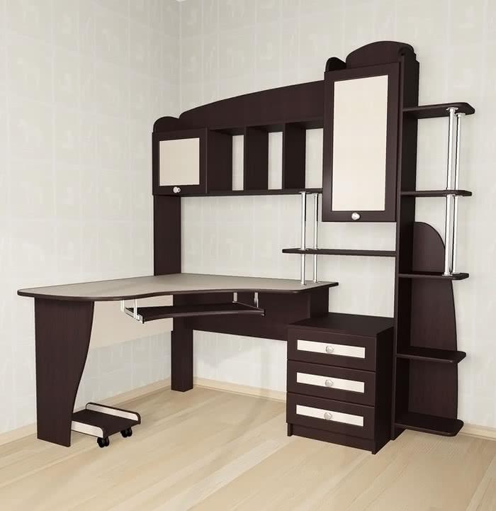 Стол компьютерный Мебелайн-12