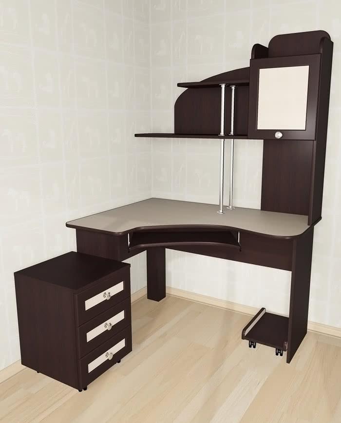 Стол компьютерный Мебелайн-14