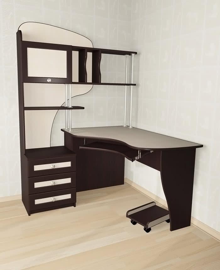 Стол компьютерный Мебелайн-15