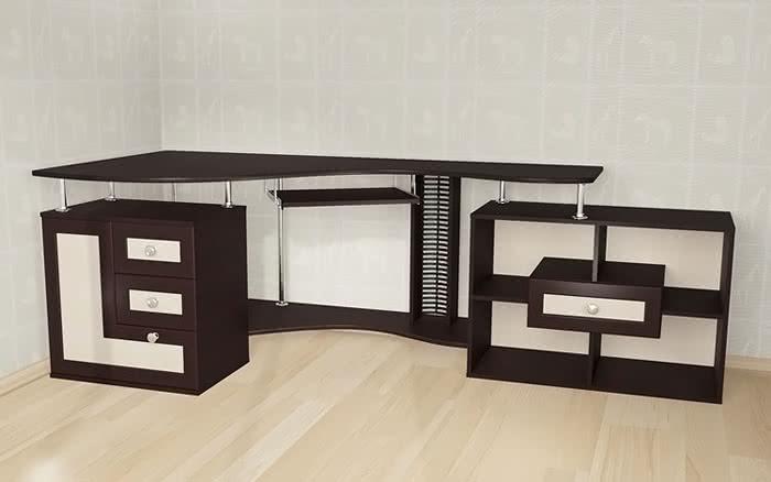 Стол компьютерный Мебелайн-9