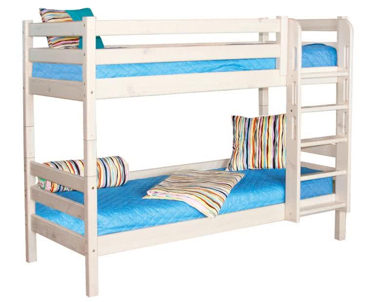 кровать мебельград соня 2х ярусная с прямой лестницей вариант 9