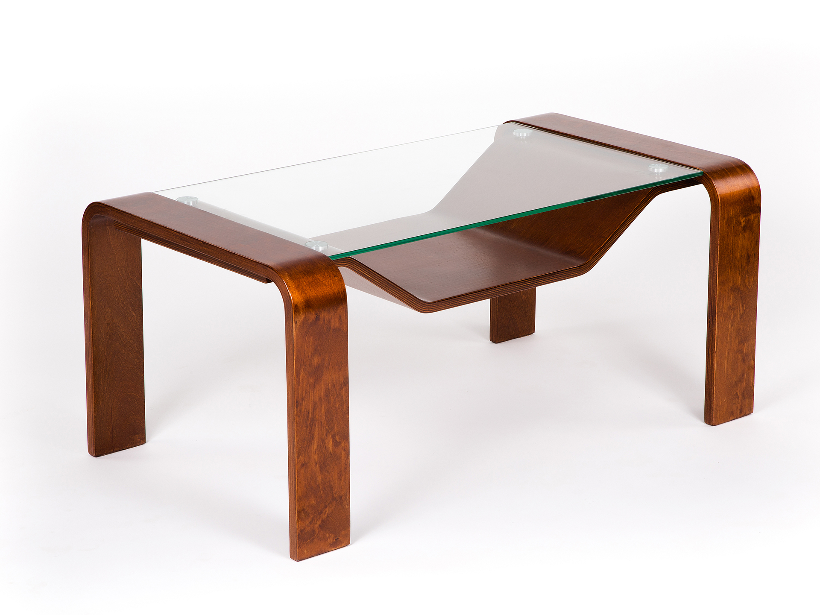Стол журнальный Мебелик Гурон 1 вишня