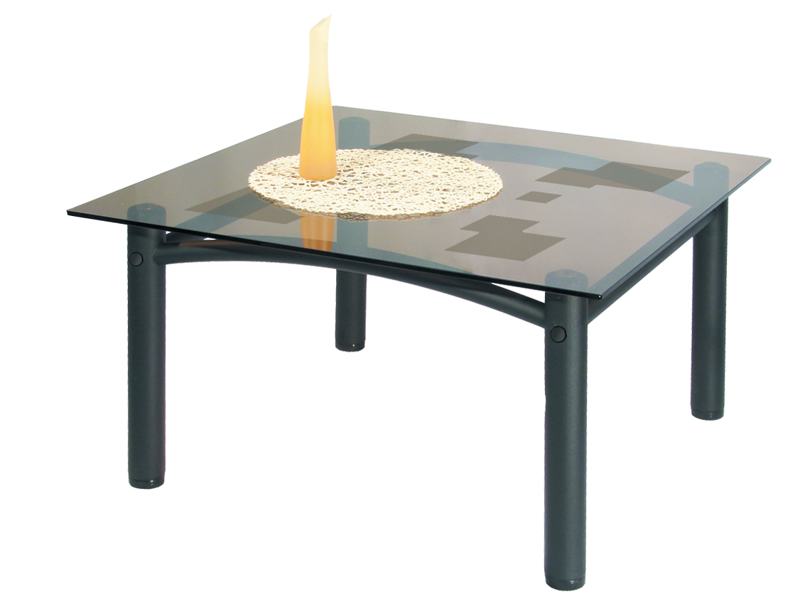 Стол журнальный Мебелик Робер 2М черный