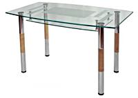 Столы из стекла Обеденные столы Мебелик