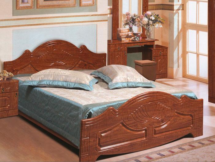 Кровать из ЛДСП и МДФ