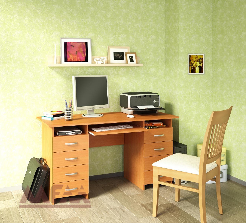 Компьютерный стол мф мастер милан-7Я.