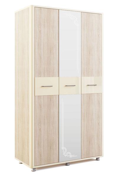 Шкаф трехдверный МСТ Оливия, мод. 13
