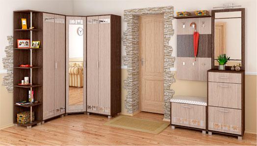 Набор мебели для прихожей Диана, комплектация 2