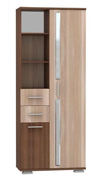 Шкаф-стеллаж комбинированный Дарси 1 Нижегородмебель