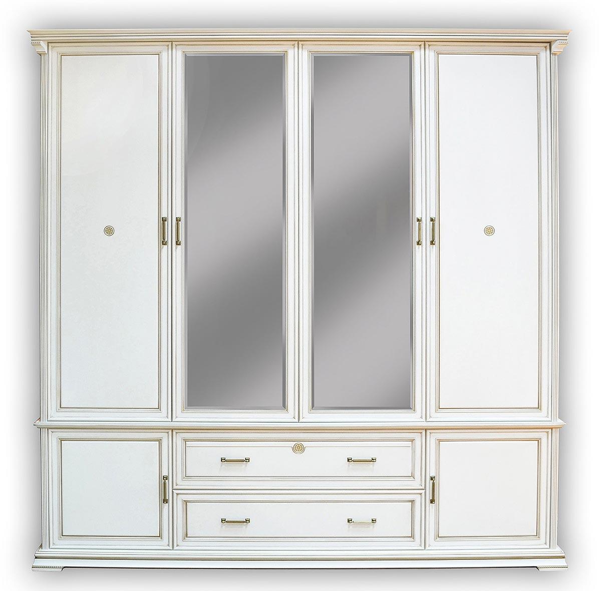 Шкаф 4х дверный Бэла Нижегородец, НМ 424.03