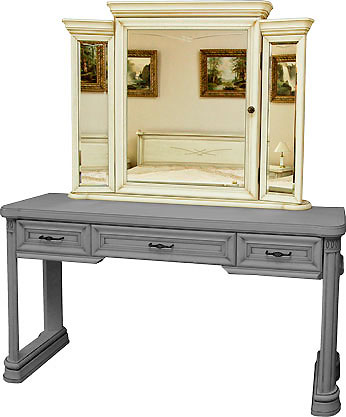 Зеркало к туалетному столу  Гербера Нижегородец, НМ 418.07