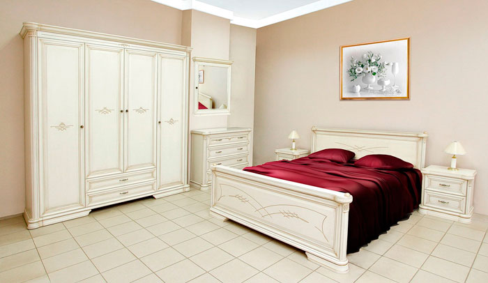 Белая спальня Гербера Нижегородец