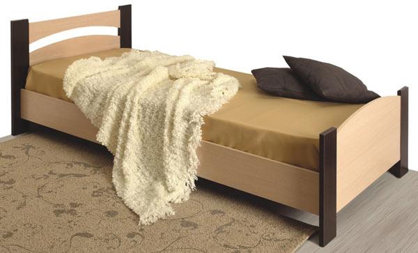 Кровать 900 Олимп-Мебель