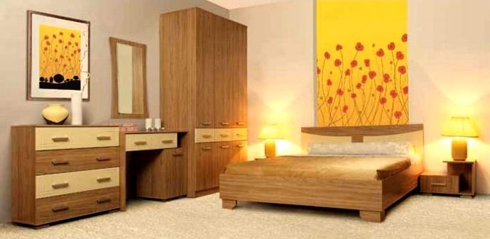Спальня Олимп-Мебель Бриз