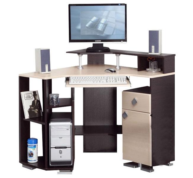 угловой компьютерный стол ваш уютный домашний офис