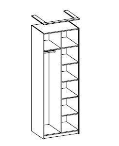 Шкаф для одежды двухдверный Розалия Олимп-мебель, 06.55